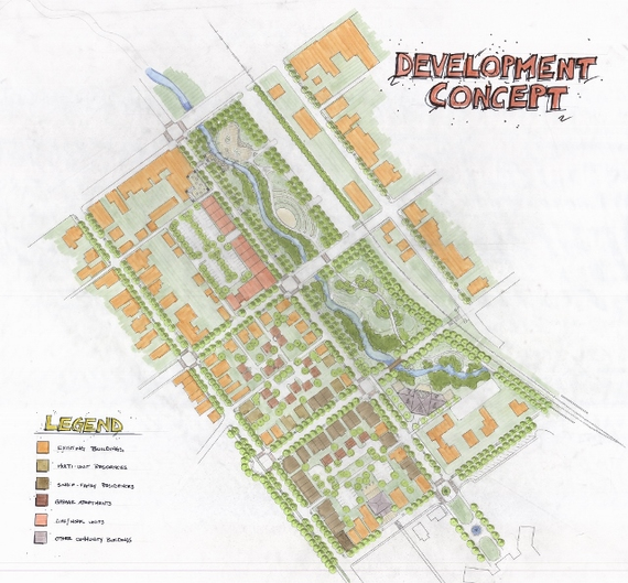 Development concept plan 1024x950 640x594