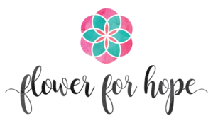 Medium flower for hope logo
