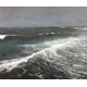 This seascape by Karl Kuerner was featured in his spotlight exhibit.