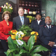 Judith Bernhard Jim Boltz Lt Minnie Cleveland and Lt Kenneth Cleveland Photos courtesy of Tabatha Knox Vibrant Images