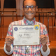North Hills Middle School seventh-grader Anthony Wiles