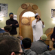 Imam Shuaib Din, Brother Junaid and Sister Maysa answer questions from the audience. (Keyra Kristoffersen/City Journals)