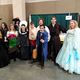 The volunteers from Raising Educations Through the Arts, Cosplay and Heroes (REACH) are all dressed up and ready to join in the fun. (Keyra Kristoffersen/City Journals)
