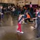 Kids of all ages do battle in a tournament of foam bats to demonstrate their sword skills. (Keyra Kristoffersen/City Journals)