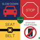 The 4S Pledge encourages residents to slow down, stop at stop signs, wear seatbelt and stay off phone while driving. Anyone 16 years and older is encouraged to sign online. (Tina Brown/South Jordan City)