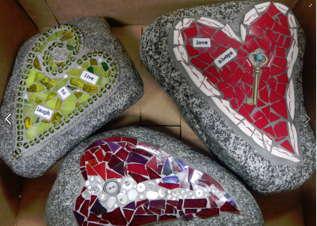 Three 20heart 20rocks