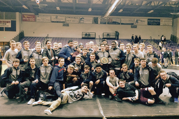 The Herriman High School wrestling team faired well at the state wrestling tournament. (Melani Clark/Herriman wrestling)