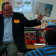 Mayor Johnson reads Dr. Seuss books to students to promote literacy. (Taylorsville PTA)