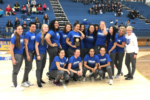 The Bruins women's basketball team won the Region 18 regular season championship. (Greg James/City Journals)