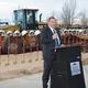 Mayor Kim Rolfe speaks at the groundbreaking ceremony for West Jordan's new public works facility on Feb. 16. (West Jordan City)