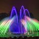 New LED lighting allows a limitless array of colors when Longwoods Main Fountain Garden reopens in May Courtesy photo