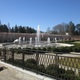 New railings, plantings and walkways have been added to the Main Fountain Garden.