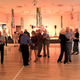 Karl Tinggaard dances with a partner at the Murray Heritage Senior Center, a few days after his 103rd birthday.