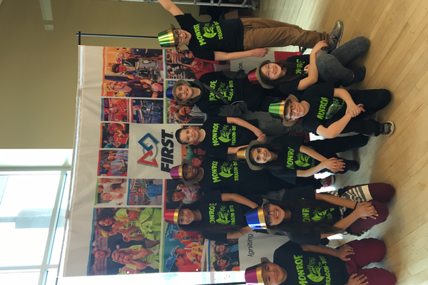 Monroe Elementary robotics team qualified for the state competition at Weber State University. (Melissa Trujillo/Monroe Elementary School)