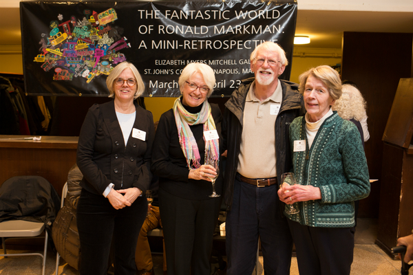 Anne Zolkower, Reenie Craven, Dave Craven, and Lynn Yarbro