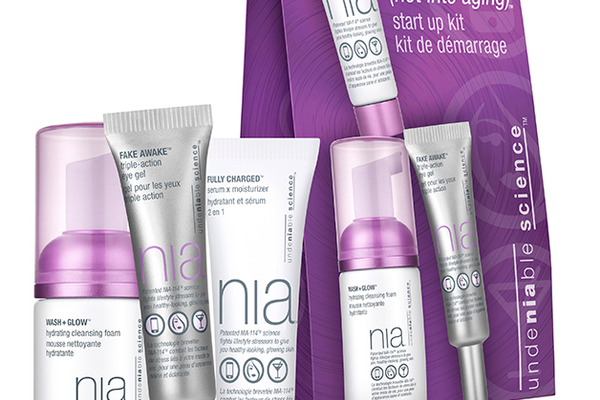 "Nia ""Not Into Aging"" Start Up Kit, $20 at Ulta Beauty, 1232 Galleria Boulevard, Suite 100, Roseville. 916-780-1117, ulta.com"