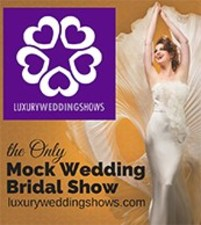 Medium luxury wedding shows event icon