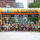 The Pittsburgh Marathon starting line