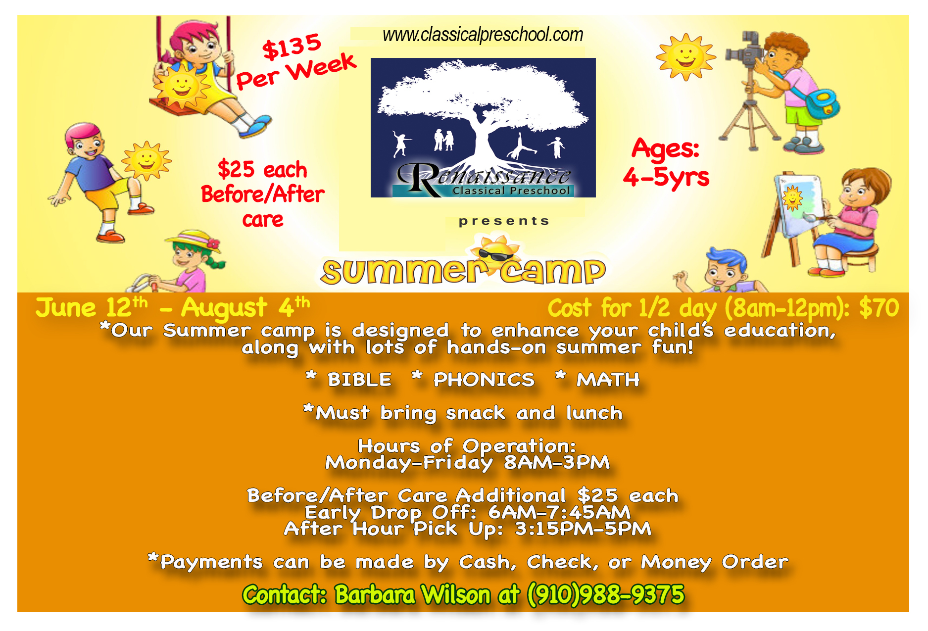 2017 20preschool 20summer 20camp 20flier