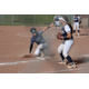 Sophomore Josee Haycock slides into third in Corner Canyon's 16-14 win over Timpanogos. (Travis Barton/City Journals)