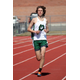 Senior Nate Osterstock broke the school record in the 3200-meter event with a time of 9:08:87. (Anna Mitchell/Olympus Track and Field)