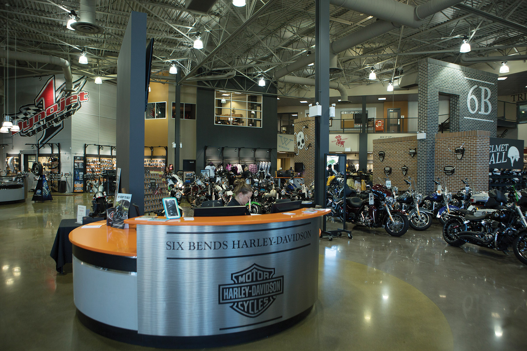 easy riding - a visit to six bends harley-davidson encompasses