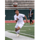 Sophomore attacking midfielder Giovanny Cisneros chases after a bouncing ball against Roy on the opening game of the season. (Steve Carnahan/MyTopPix)