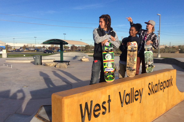 West Valley held the grand opening of their skate park at Centennial Park on Oct. 8. The skate park received outstanding facility recognition from the Utah Recreation and Parks Association. (Kevin Conde/West Valley City)