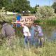 Volunteers help to keep the Jordan River corridor clean. (Jordan River Commission)