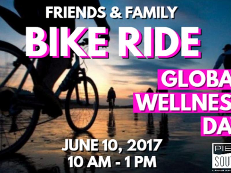 Global Wellness Day Friends   Family 5k Bike Ride Saturday June 10th ... ac254c7dc744