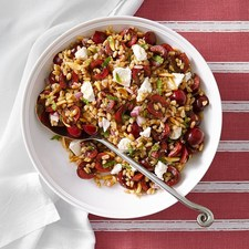 Cherry-Almond Farro Salad From EatingWellcom