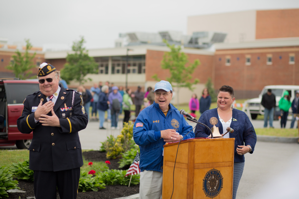 Dracut Memorial Day Ceremonies (Photo by Christine O'Brien)