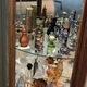 The perfume bottle collection of Grace DeVries. (Alisha Soeken)