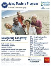 Navigating Longevity Create your own path in aging - start Jun 09 2017 1000AM