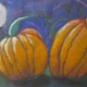 A nighttime view of pumpkins by Liam Montgomery of Nottingham Elementary School