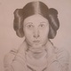 A pencil portrait by Hannah Bartlett of Oxford Area High School.