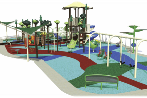 New playground to satisfy children of all abilities