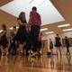 Herriman High School ballroom dancers practice for their final showcase of the 2016–17 school year. (Tori La Rue/City Journals)