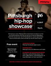 Medium hip hop flyer
