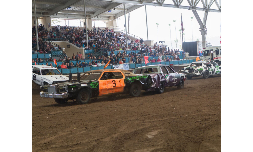 Imperial Beach Firefighters & Lifeguards Demolition Derby