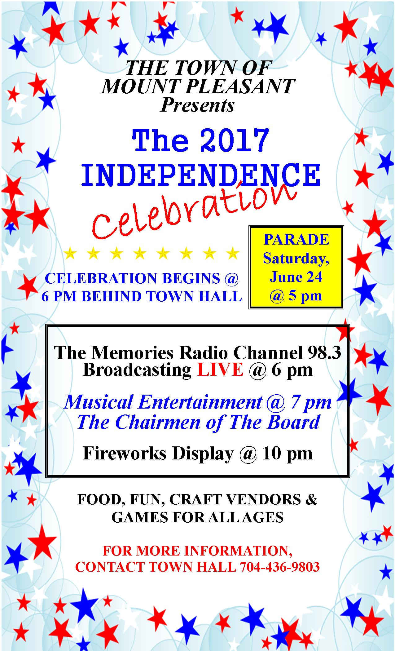 Independence flyer 2017