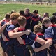 Brighton boys rugby team huddles together before one of their games. (Teresa Petty/ Manager Brighton Rugby)