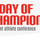 A Day of Champions is a foundation where professional athletes, trainers and celebrities hosts conferences for athletes, coaches and parents to talk about their experiences. (Jeremy Holm/ Draper)
