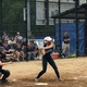 Dracut's Sabrina Morse gets ready to take a swing in the state final against Grafton. Morse scored her team's only run.