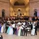 Murray High students and alumni dance at the centennial ball at the Utah State Capitol. (Jodi Mismash/Murray High School)