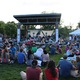 Hundreds of people listened to various bands, including Jaboom at Imperial Park, during the 5-hour music stroll. (Travis Barton/City Journals)