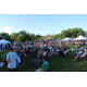 Hundreds of people listened to various bands at and around Imperial Park during the 5-hour music stroll. (Travis Barton/City Journals)