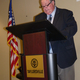Taylorsville Mayor Larry Johnson is full of optimism during his State of the City address. (Carl Fauver)