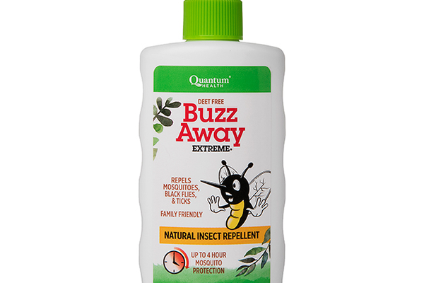 Buzz Away Extreme Natural Insect Repellent, $9.97 at Elliott's Fine Nutrition, 6671 Blue Oaks Boulevard, Rocklin. 916-772-1898, elliottsfinenutrition.com