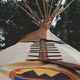 Tipi Camping, $120+ per night, at Silver Fork Ranch, 6507 Silver Fork Road, Kyburz. 530-207-3035, silverforkranch.wordpress.com